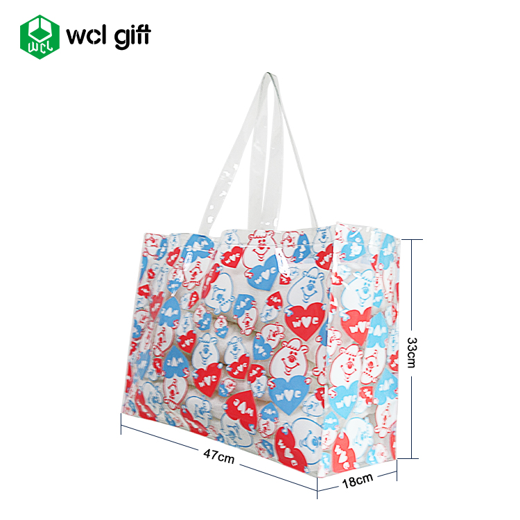 Durable Large Duty Structured Laundry Carry Tote Bag