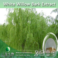 Top Quality White willow bark Extract , Free Sample Salicin 10~98% ,Salicin Powder Extract