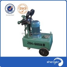 220V hydraulic oil pump ZB4-500