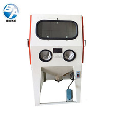 electron sanding tool / abrasive blasting equipment for small workpieces cleaning