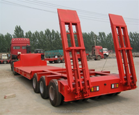 High Qaulity 2017 goldhofer type Multi Axle Hydraulic Modular Low Bed Semi Trailer For Sale