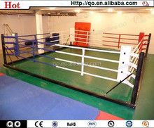 Excellent quality professional training floor mounted boxing ring