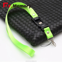Dr.memory Coporate Gifts Popular Portable Lanyard Usb pendrive 1GB to 64GB USB Flash Drive, Promotional Wire USB Stick
