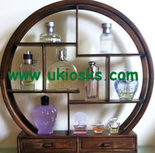 Perfume display stand/perfume glass display stand customization used for Chanel perfume display