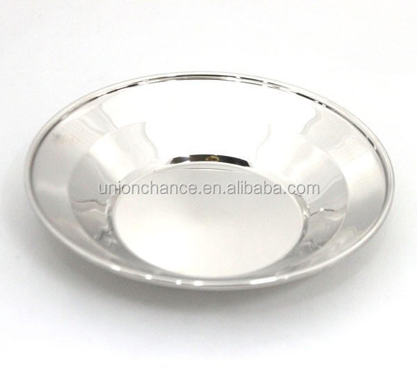 Stainless Steel Dishes & Plates