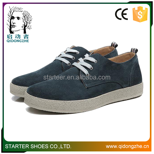 Men's casual shoes sport flat leather shoes