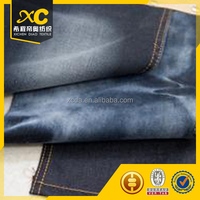 high stretch satin korean style denim jean fabric