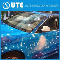 2015 New High Quality Decoration Cheap Waterproof car body wrap sticker for Advertising