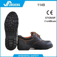 Anti Slip Antistatic leather engineering working safety shoes egypt