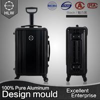 China factory 2pcs set hard shell luggage