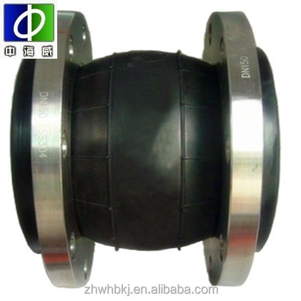 JIS 10k flange EPDM rubber bellows expansion joint with ex-factory price