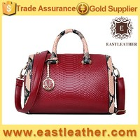 E1089 buy direct from china factory trendy unique snake skin tote bags