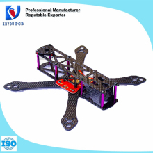 2016 toy & hobby CNC new carbon fiber martian 230 quadcopter frame with PDB board