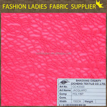 shaoxing cicheng jacquary poly spandex fabric,stretch knit wrap