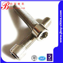 hex socket cap titanium screw