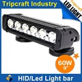 New Model!! Single Row 20 inch 60W CREE Auto LED Driving Bar Lights for Offroad/Truck/ATV, SNCN-B1060