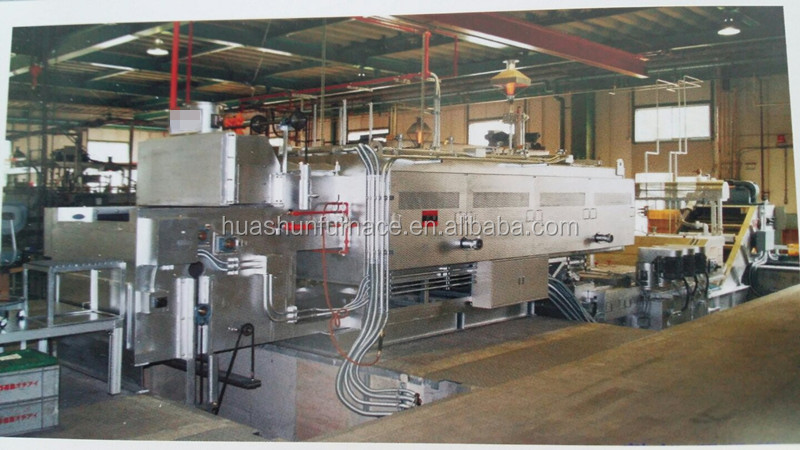 Continuous salt bath austempering furnace