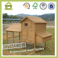 SDC01 extra large run wooden pet house