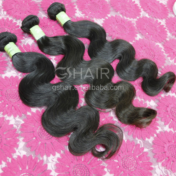 Authentic 100% human hair virgin Brazilian hair extension water wave