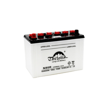 12v 80ah auto battery Dry Charged rechargeable lead acid battery car