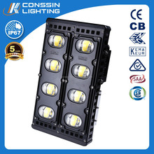COB 600W high power led flood light for tennis court CSA,SAA,CE approved