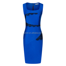 2017 New Fashion OL Women Ladies Office Dress Clothes Knee-length Bodycon Slim Pencil Party Dress
