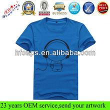 Custom single color cotton fashion men beautiful t shirt