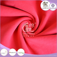 China Supplier Brushed Spandex 32S Combed Cotton Fleece Knitted Fabric for Sweater shirt