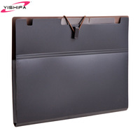 Decoration newly school file PP expanding file folder direct factory with support logo printing