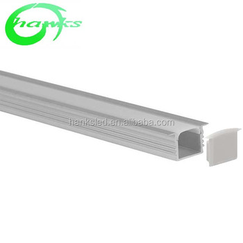 Led aluminum and pvc lighting profile of strip Aluminum extrusion profile LED Waterproof Cover LED Aluminum Profile