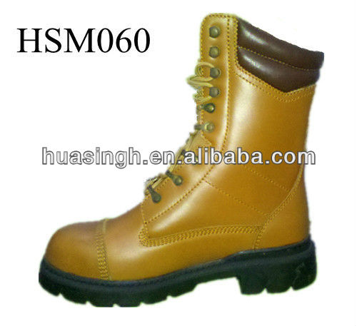 Steel Toe Cap Military Security Force Western Fashion Army Boots In LOW COST