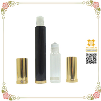 Luxury high quality travel attar empty roll-on perfume bottle