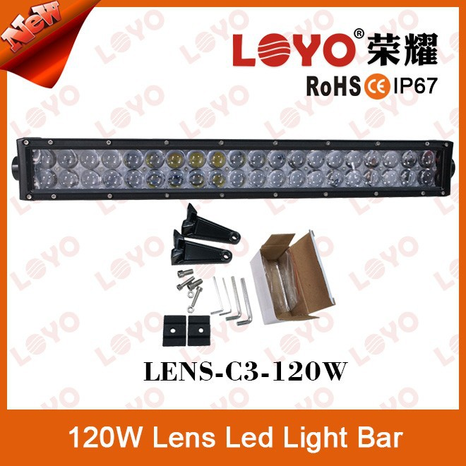 "2015 New Product!!!120W 22""LED Work Light Bar Offroad Spot/Flood Bar Trucks Boat SUV Off Road 4x4 4WD"