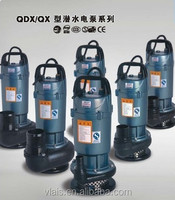 QDX submersible pump , submersible water pump, submersible pump single phase