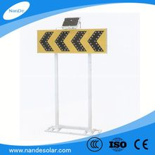LED traffic revolving warning light with fixed sheet steel