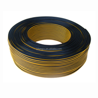 high quality black and yellow CCA low voltage speaker cable electrical wires