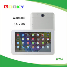 Stock mtk 8382 3g phone android 4.4 8gb 7inch tablet