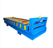 China factory supply clip lock metal roofing sheet making machine
