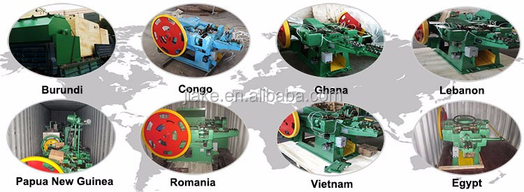 Automatic common steel wire nail making machine