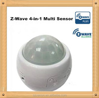 2015 Hot sale Z-Wave 4-in-1 Multi Sensor Motion, Temperature, Humidity and Light Sensor