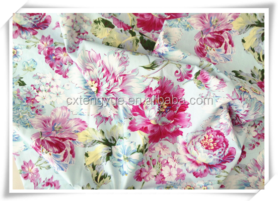 bed sheet fabric/factory price polyester