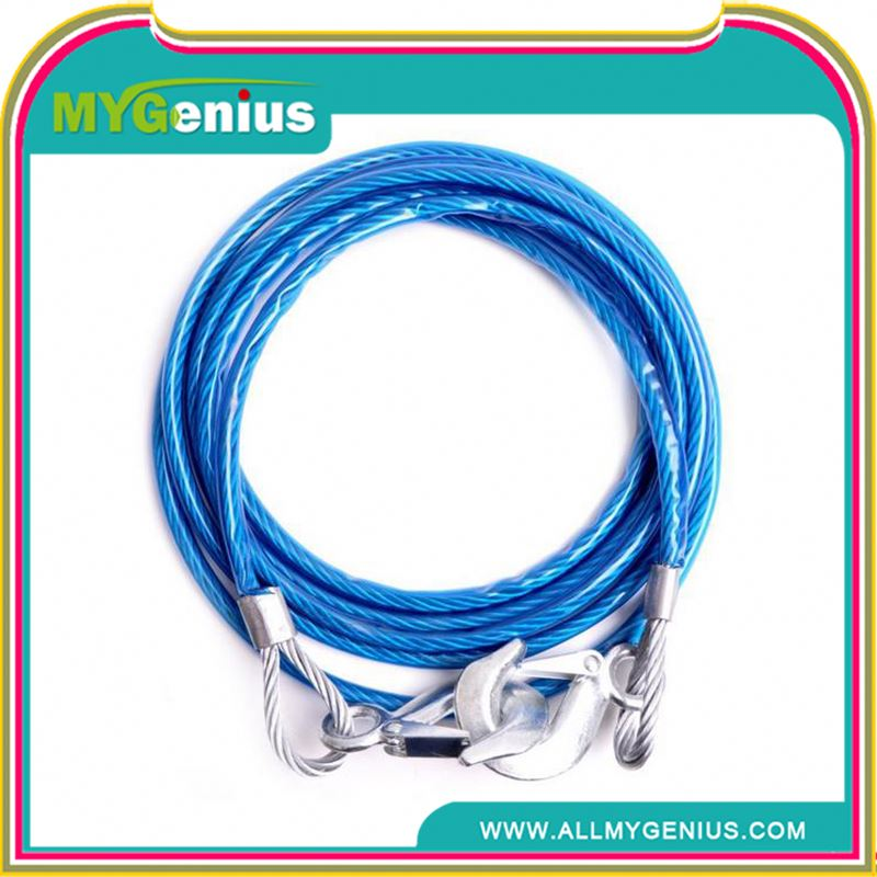 Steel tow rope for car ,steel tow rope for truck ,H0Tvh heavy duty towing cables