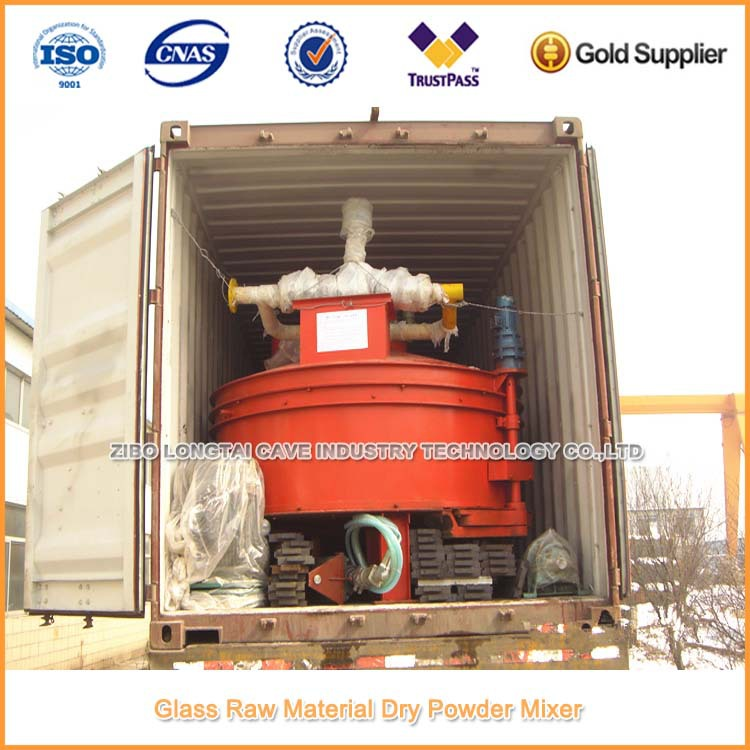 Glass Raw Material Dry Powder Mixing Machine