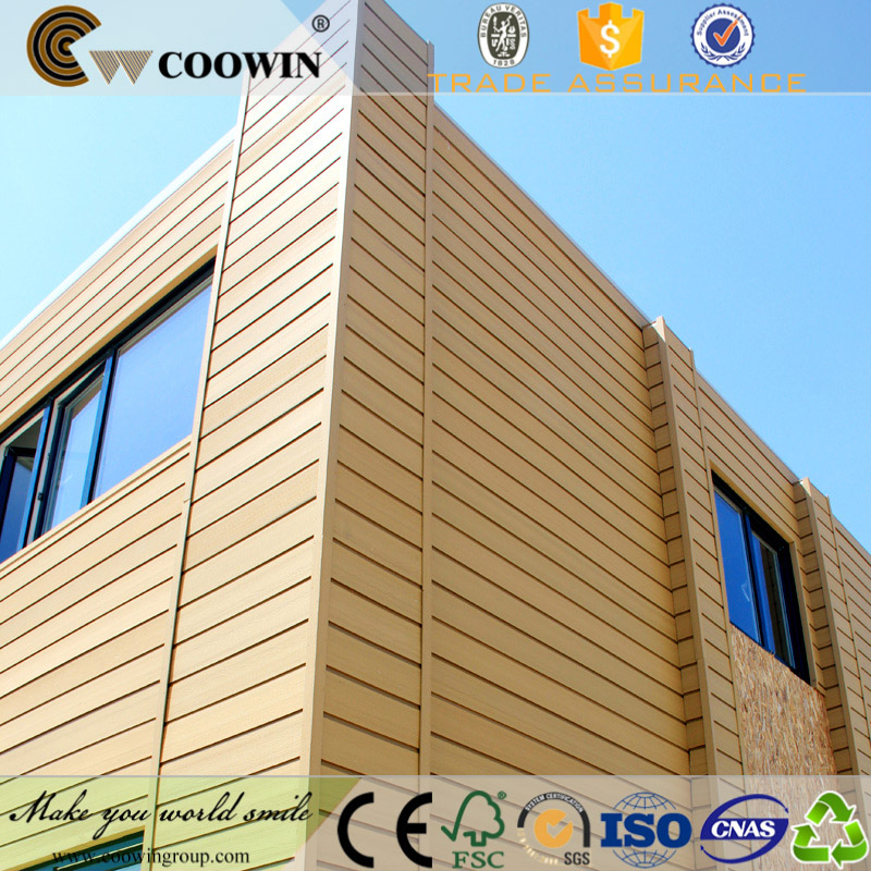 WPC wood plastic composite water resistant wall covering