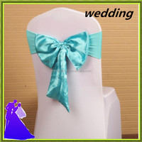 factory Price satin and spandex chair sash for wedding wholesale price from Nantong wedding textile