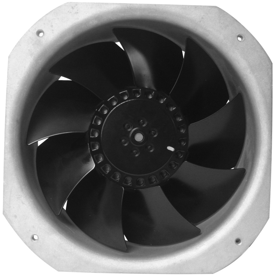 220v large air flow ac industrial ventilation AC fan 225*225*80mm