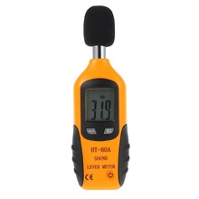 LCD Digital Audio Decibel Sound Noise Level Meter Monitor dB Meter Measuring 30 dB to 130 dB Logger Tester