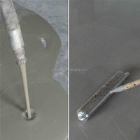 polymer cement waterproof mortar leakage processing bathroom floor