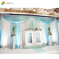 shenzhen custom made event curtain draping