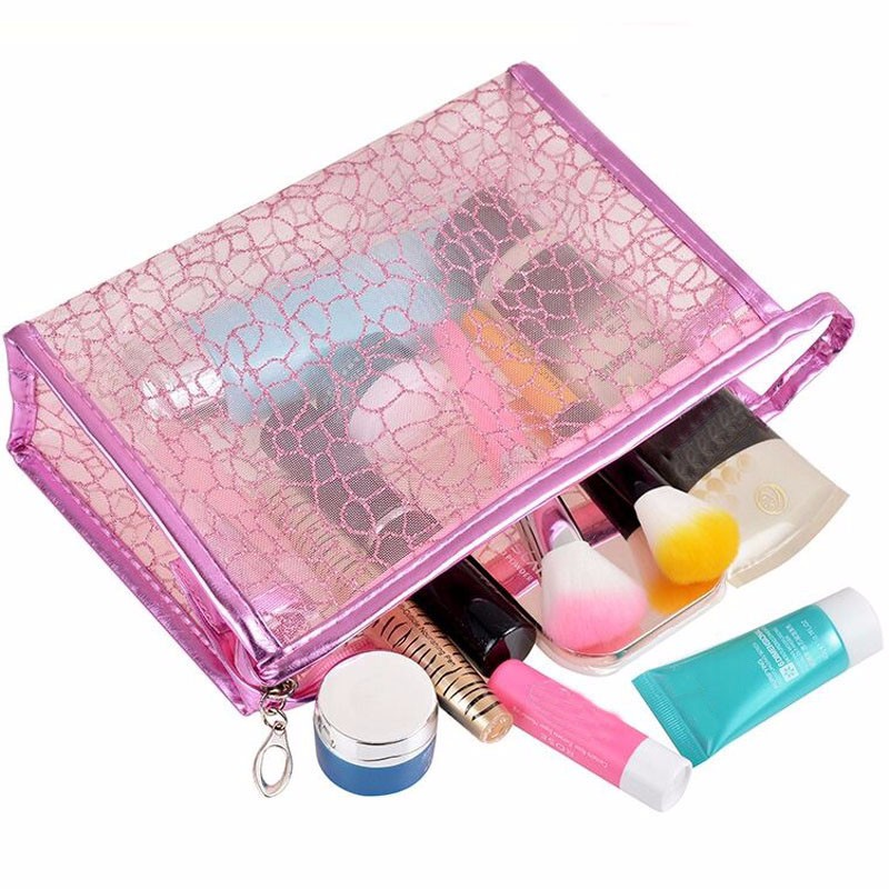 2017 newest fashion pvc cosmetic packaging bag makeup case